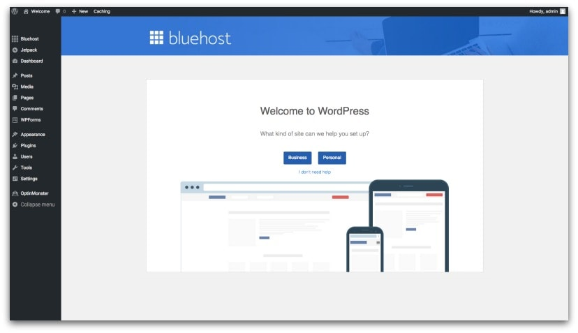 business-bluehost