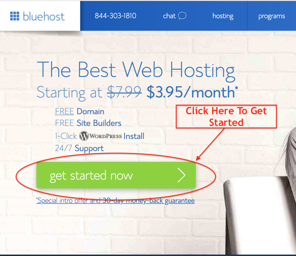 start-blog-with-bluehost-step-1