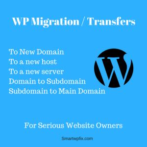 Wordpress Website Migration Help
