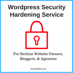 Wordpress Website Hardening Services