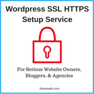 WordPress SSL HTTPS Setup Service